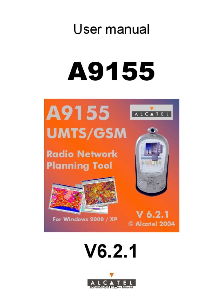 A9155 Manual | File Format | Radio Propagation