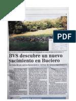 Localizado segundo retranchement en Monte Buciero