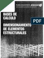 Prontuario ENSIDESA Calculo