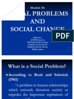 Social Problems and Social Change
