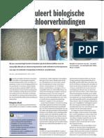 Soja stimuleert biologische afbraak chloorverbindingen