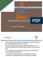 Unit I Java Pro