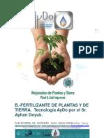 DOC_ Aplicaciones y Usos del B.-FERTILIZANTE DE FLORES PLANTAS Y ÁRBOLES AyDo