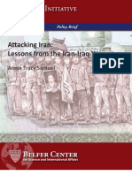 Lessons From Iran Iraq War