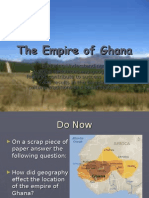 The Empire of GhanaP2