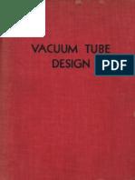 RCA 1940 Vacuum Tube Design