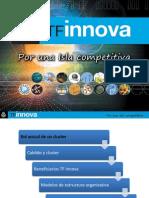 Apoyo a los cluster desde TF Innova