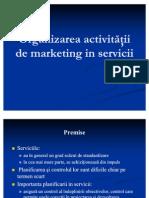 M K_SERV9-Organizarea activităţii de marketing in servicii