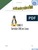 Configuración  DNS maestro y esclavo