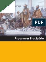 Programa provisório - XXXII Congresso Nacional De Cirurgia