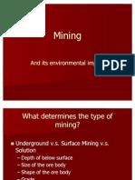 Mining and Environment