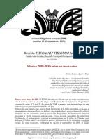 Aguirre Rojas, Carlos - México 2005-2010. Obra en trece actos [2009]