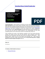 Dasar tutorial pdf photoshop