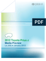 12Prius c Technical Presentation v3 2