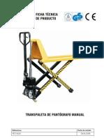 PET15620 Trans Pal Eta Pantografo Manual