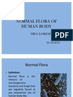 Normal Flora of Human Body