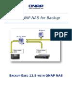 Backup Exec 12.5 With QNAP NAS
