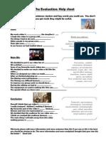 Music Video Evaluation Sheet2