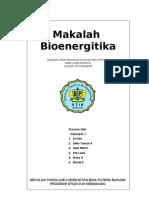 Makalah Bioenergitika