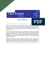 Rolul Parlamentului European Si Conexiunea Cu Cetatenii-26102004
