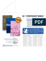 Bardin Waterproof Bible