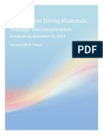 Tinsay- How Marine Diving Mammals Manage Decompression