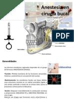 Anestestesia en Cirugia Bucal