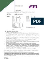 2012 Endurance Draft Schedule NOS Word PUERTO REAL CEI 2