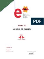 Modelo Examen Nivel a1