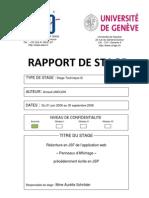 Rapport de Stage - Arnaud Limouzin-1