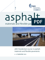 Asphalt Course Flyer
