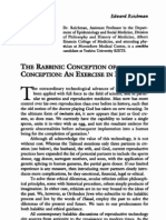 Rabbinic Conception of Conception