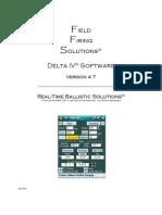 Ffs Manual 4.7 - IV