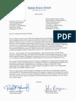 Menendez-Boozman Letter to Appropriators on LRA Disarmament