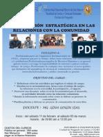 Curso Comunicacion Estrategica Relaciones Comunidad