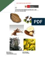 Estrategia de Investigacion en Biocomercio en el Perú 2010 - 2020