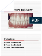 Denture Delivery [Removable Prosthodontics Seminar @AmCoFam]