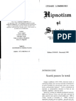 Enmar Lombroso - Hipnotism și spiritism