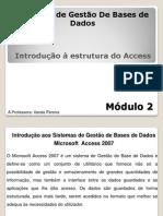 Introducao a Estrutura do Access