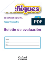 Boletín evaluación LOE Meñiques 4 años 3º Trim Nacional