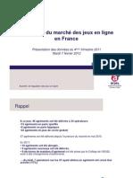 Etat des lieux du marché français des paris sportifs, hippiques et du poker en ligne