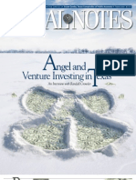 Angel and Venture Investing in Texas