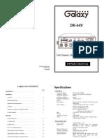 DX 44V Manual