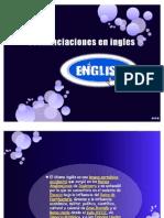 Pronunciaciones en Ingles