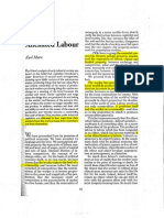 Marx Alienated Labor