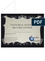 universal record system presentation42 final