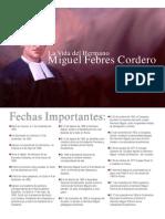 Datos Del Santo Hno Miguel Febres