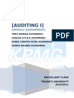 audit procedure KPMG