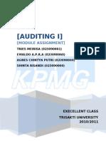 audit procedure KPMG