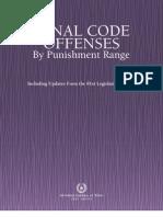 Penal Code Texas